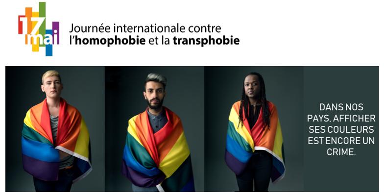 17 mai journée contre l'homophobie et la transphobie