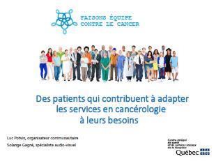 Image faisons équipe contre le cancer