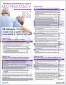 Plan d'action gouvernemental pour contrer la maltraitance envers les personnes aînées 2017-2022 - 52 mesures concrètes élaborées à partir de 4 grandes orientations